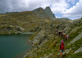 Escursione ai laghi di Chianale