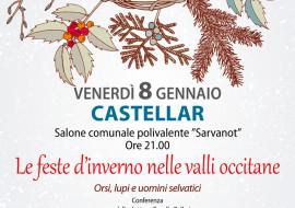 """Conferenza: """"le feste d'inverno nelle valli occitane"""" a Castellar"""