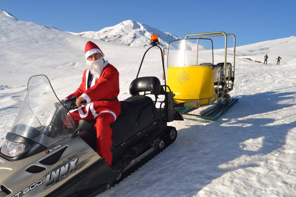 Babbo Natale sulle piste a Pian Muné - Vallidelmonviso