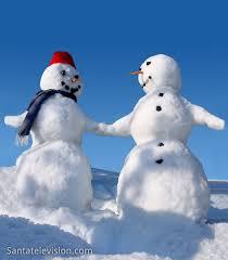 Fantasie di neve, concorso di pupazzi di neve