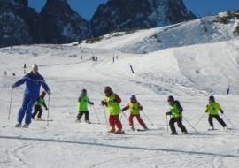 Corsi di sci in valle Po