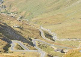 Chiusura della strada del Colle dell'Agnello ottobre 2017