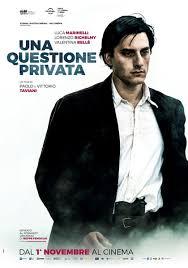"""Proiezione del film """"Una questione privata"""" a Piasco"""