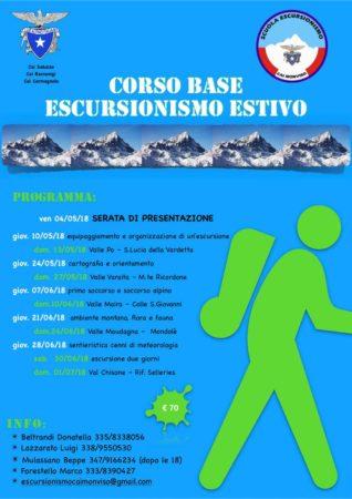 Corso base di Escursionismo