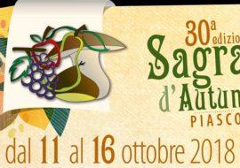 Sagra d'autunno a Piasco dall'11 al 16 ottobre 2018