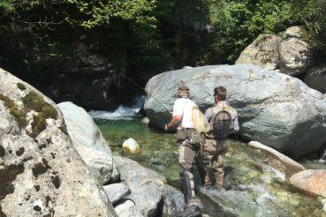 Pesca no kill in Valle Po