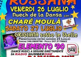 45^ festa d'estate a Rossana