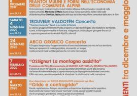 I venerdì del Cunvent a Rore di Sampeyre:stage + concerto