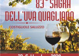 83^ Sagra dell'uva Quagliano a Costigliole Saluzzo