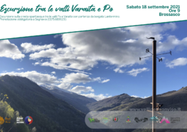 Dante in cammino tra valle Varaita e valle Po