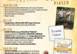 XXXII^ Sagra d'autunno a Piasco