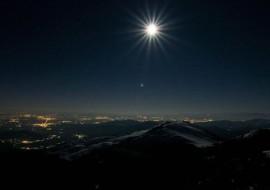 Weekend di luna piena a Pian Muné
