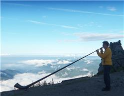 Vivray je du vent con Corni delle Alpi