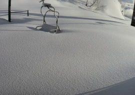 Sciare ad aprile in valle Po