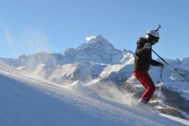 Inverno 2018/2019, sciare in valle Po