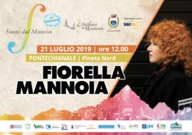 Fiorella Mannoia in concerto a Pontechianale