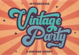HAPPY DAYS- vintage party