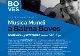 Musica Mundi, concerto a Balma Boves