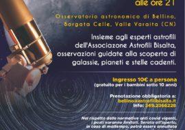 Osservazioni guidate all'Osservatorio di Bellino